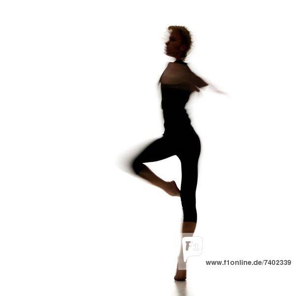 Silhouette  Tänzer  Ballett