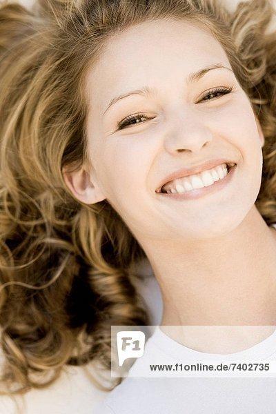 Frau  lächeln  jung