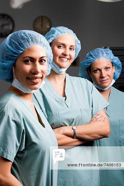 Medical personnel in surgery