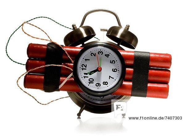 Uhr  alarmieren  Dynamit