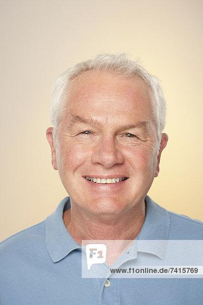 Senior Senioren Portrait Mann