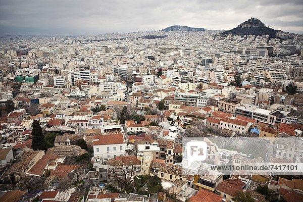 sehen  Akropolis  Griechenland