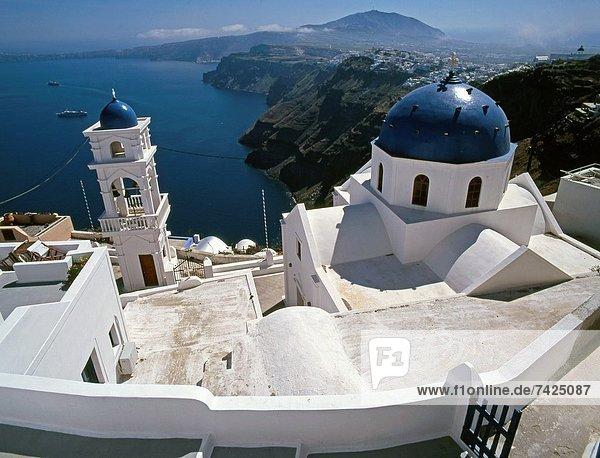 Kirche  Santorin  Kykladen  Griechenland