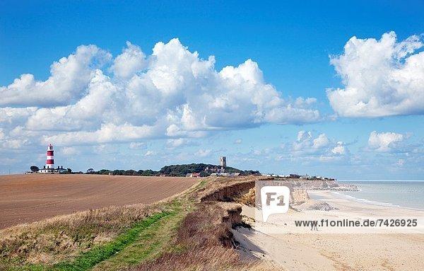 Gehhilfe Großbritannien Kirche Leuchtturm Norfolk