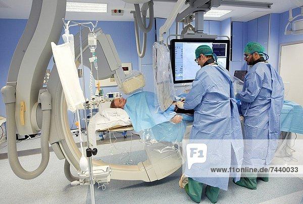 Chirurgie  OP  San Sebastian  Spanien