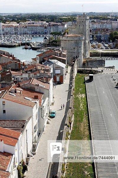 Path of the wall  La Rochelle  Charente-Maritime  Poitou-Charentes  France.