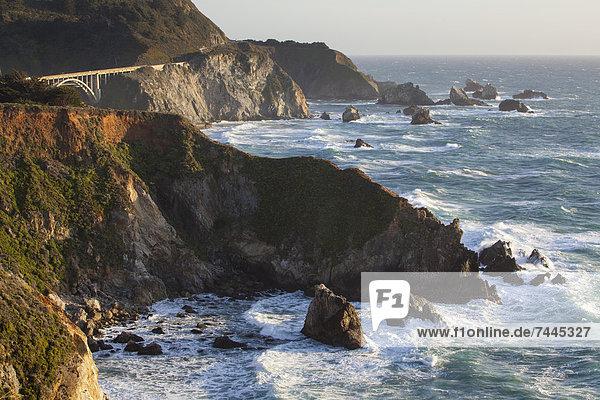 Steilküste  Big Sur  Kalifornien  USA