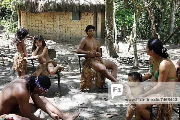 nahe  Mensch  Menschen  Indianer  Bahia  Brasilien  Porto  Südamerika