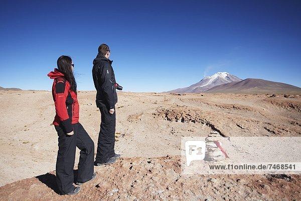 sehen , Vulkan , Bolivien , Südamerika