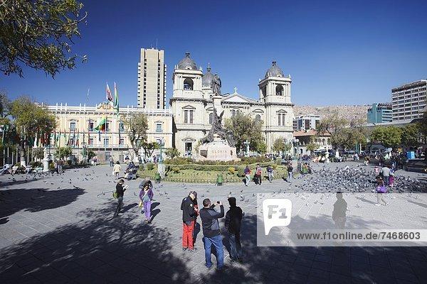 La Paz  Hauptstadt  Bolivien  La Paz  Südamerika