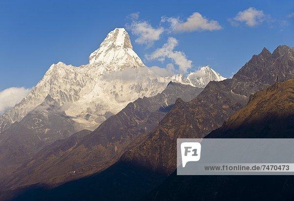 Himalaya  Ama Dablam  Asien  Nepal