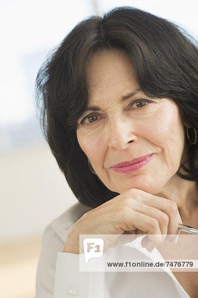 Senior  Senioren  Portrait  Geschäftsfrau