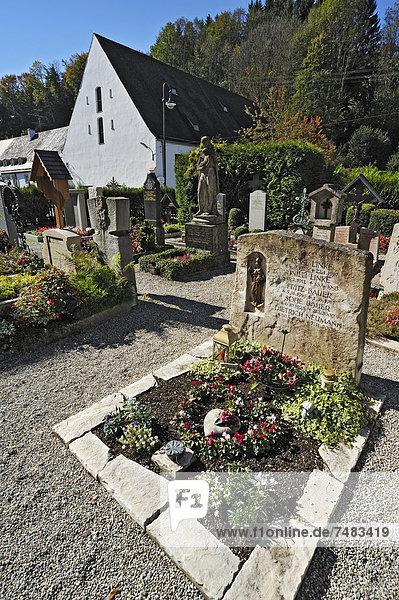 Europa Bayern Friedhof Deutschland