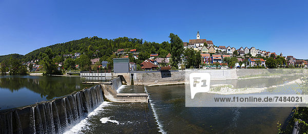 Horb am Neckar  Black Forest  Baden-Wuerttemberg  Germany  Europe  PublicGround