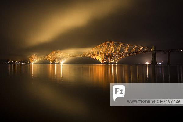 UK  Schottland  Forth Rail Bridge über Firth of Forth
