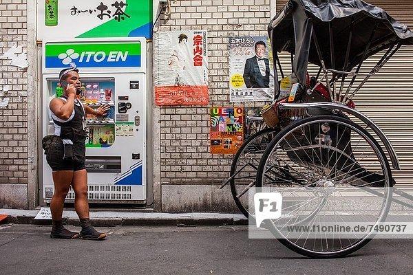 Tokyo  Hauptstadt  Asakusa  Asien  Japan