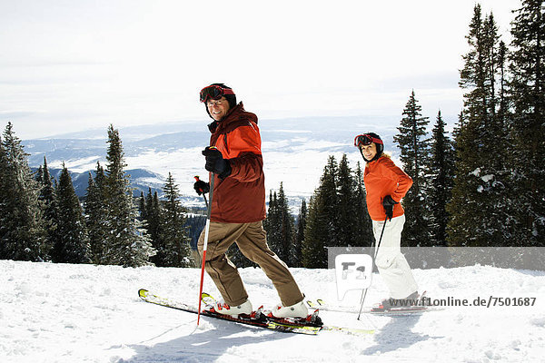 Berg  Skisport  Hang