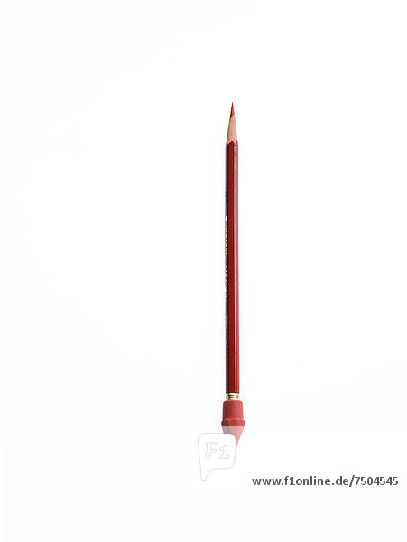 Farbaufnahme  Farbe  Bleistift  rot