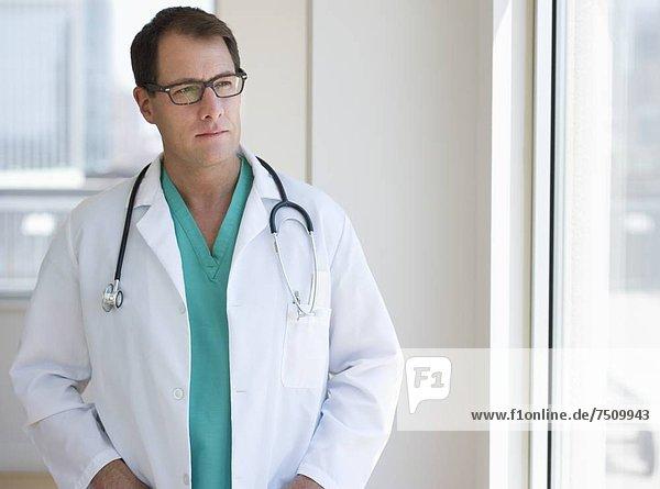 Portrait eines Arztes