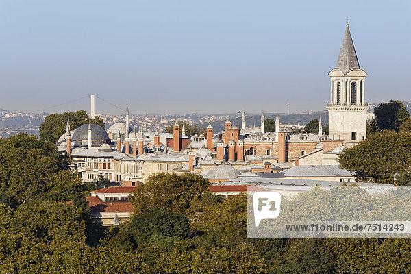 Topkapi Palace  Old City Sultanahmet  Istanbul  Turkey  Europe