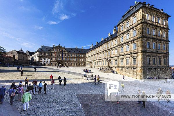 Europa Bamberg Bayern Deutschland Oberfranken