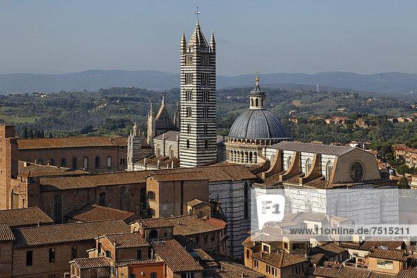 Europa Italien Siena Provinz Siena
