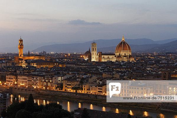Europa Stadt Ignoranz Kathedrale Palast Schloß Schlösser Florenz Italien alt Toskana