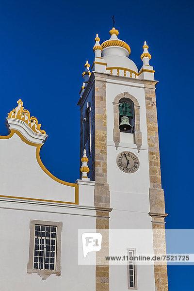 """Kirche  Igreja de Nossa Senhora da ConceiÁ""""o  Zentrum  Portimao  Algarve  Portugal  Europa"""