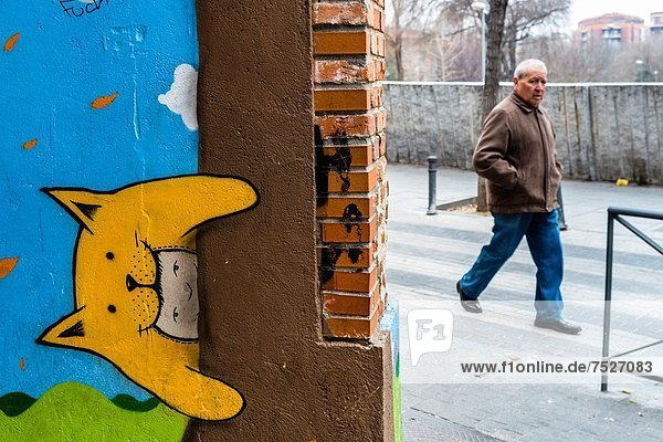 Europa  Spanien  Street-Art  Straßenkunst