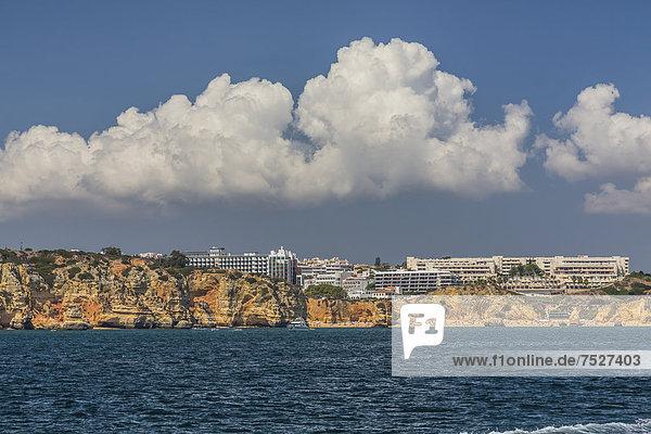 Europa Küste Algarve Lagos Portugal