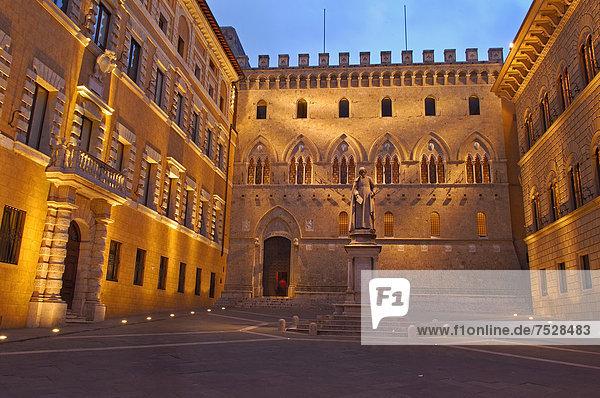 Europa UNESCO-Welterbe Italien Siena Toskana