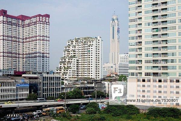 Bangkok Hauptstadt Ansicht 2 Thailand