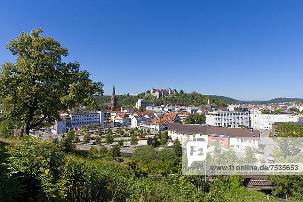 Europa Baden-Württemberg Deutschland Schwäbische Alb