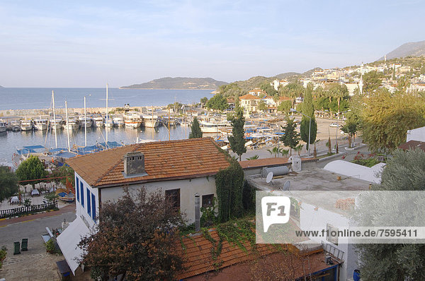 Townscape of Kas  Ka?  Turkey