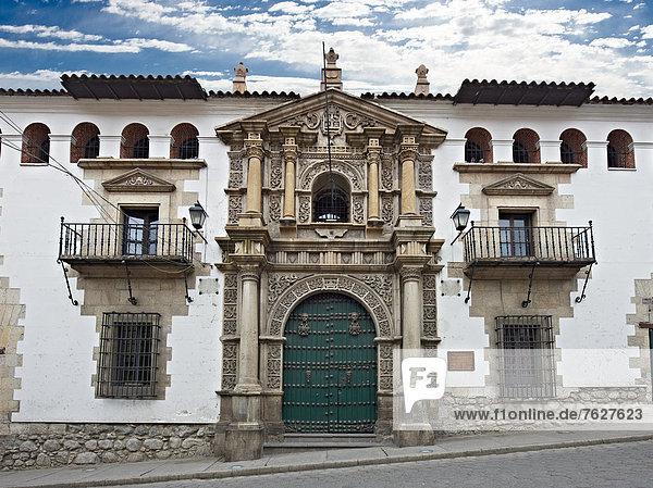 Casa de la Moneda  Potosi  Bolivien