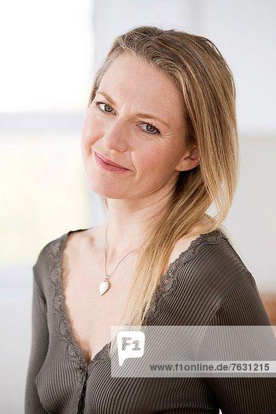 Portrait Frau Mittelpunkt