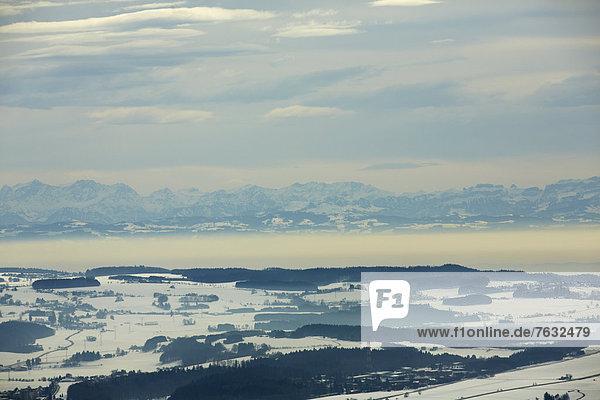 Schweizer Alpen und Bodensee  Deutschland  Europa Schweizer Alpen und Bodensee, Deutschland, Europa