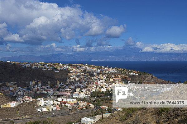 Außenaufnahme  Europa  Tag  niemand  Kanaren  Kanarische Inseln  La Gomera  San Sebastian  Spanien