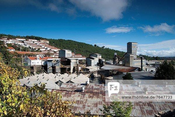 Mining complex at Fundão  Portugal