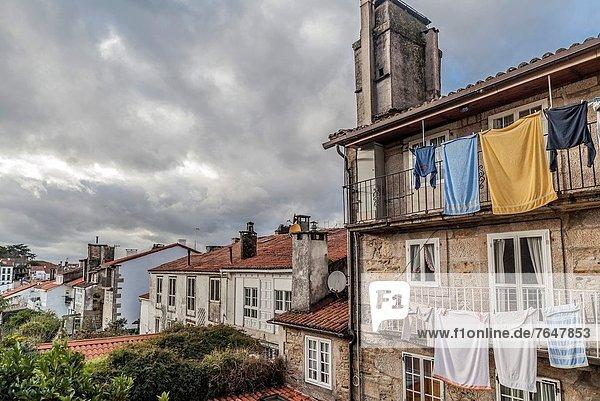 Altstadt  Galicien  Santiago de Compostela  Spanien