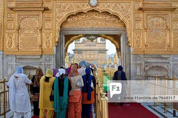 Eingang Amritsar Indien Punjab