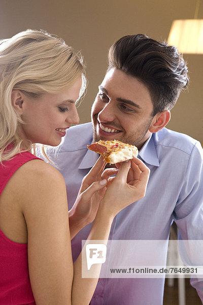 Pizza , essen,  essend,  isst