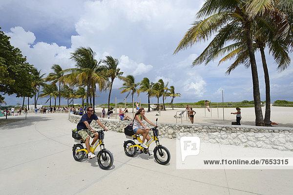 Vereinigte Staaten von Amerika  USA  Florida  Miami  Ocean Drive  South Beach