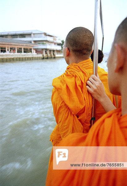 Buddhistische Mönche -Bangkok - Thailand - Asien