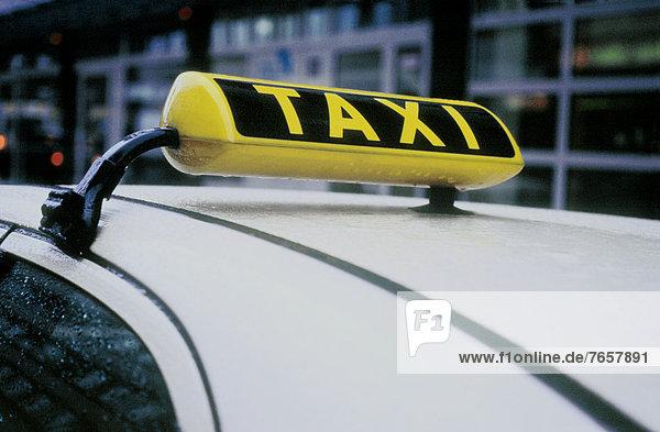Taxi - Detail - Deutschland