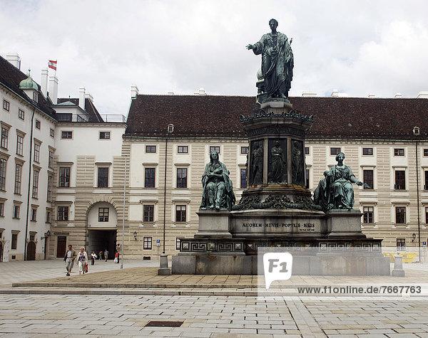 Hofburg  Wien  Österreich  Europa