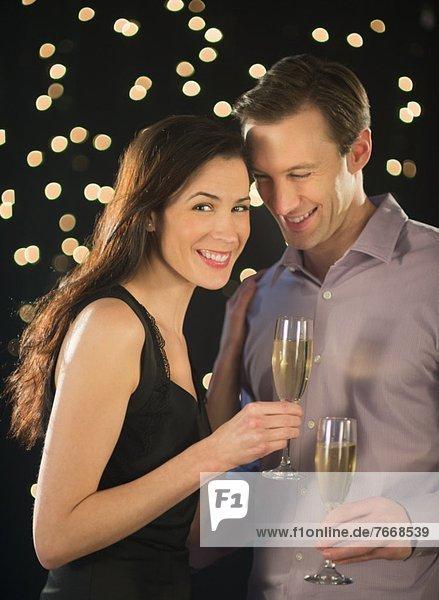 Fest festlich Neujahrstag