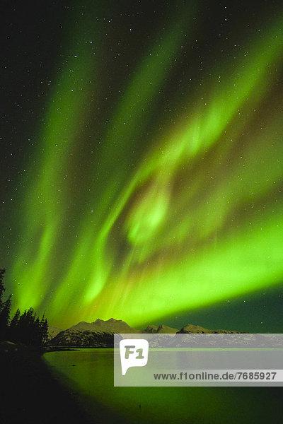 Nordlicht  Polarlicht  Aurora Borealis