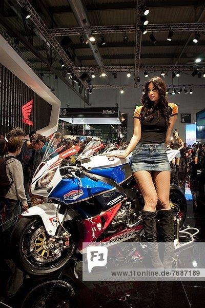 Italy  Lombardy  Milan motorbyke show