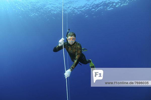 Freediver  Mediterranean Sea  Ka?  Kas  Turkey